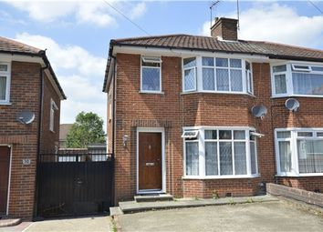 Thumbnail 3 bed semi-detached house for sale in Brinkburn Close, Edgware, Greater London