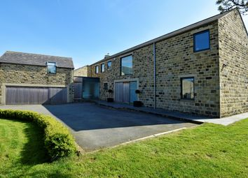 Thumbnail 5 bedroom detached house to rent in Lydgate, Lepton, Huddersfield