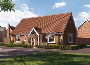Thumbnail 2 bed detached bungalow for sale in Saxtead Road, Framlingham