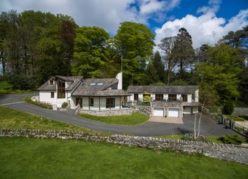 Thumbnail 4 bedroom detached house for sale in The Walled Garden, Hampsfield House. Windermere Road, Grange-Over-Sands