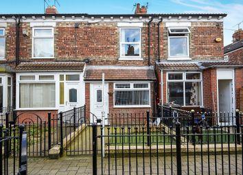 Thumbnail 2 bedroom terraced house for sale in Cardigan Avenue, De La Pole Avenue, Hull