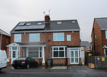 Thumbnail 4 bed semi-detached house to rent in Gleneagles Avenue, Rushey Mead, Leicester