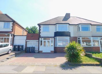 Thumbnail 3 bed semi-detached house for sale in Lockwood Road, Birmingham