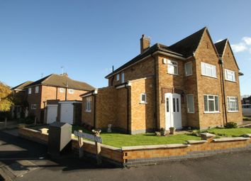 Thumbnail 4 bed semi-detached house to rent in Steyning Crescent, Glenfield, Leicester