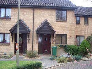 Thumbnail 2 bed terraced house to rent in Langshott, Horley, Surrey