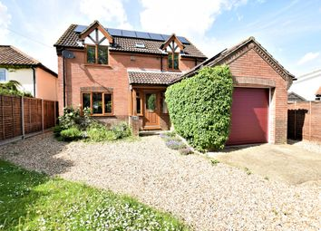Thumbnail 4 bedroom detached house for sale in The Street, Ovington, Thetford