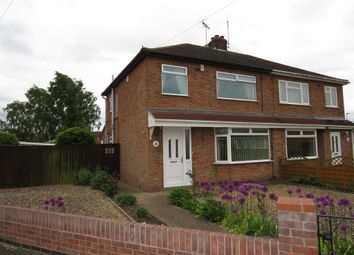 Thumbnail 3 bedroom semi-detached house for sale in Allan Avenue, Stanground, Peterborough