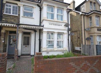 Thumbnail 1 bedroom maisonette for sale in Wellesley Road, Clacton-On-Sea