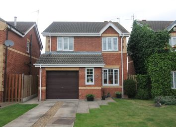 Thumbnail 3 bed detached house for sale in Sandbeck Court, Rossington, Doncaster