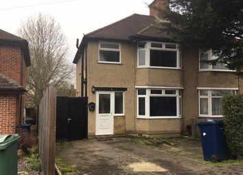 Thumbnail 3 bed semi-detached house to rent in Derwent Avenue, Headington