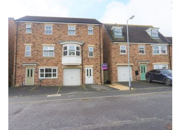 Thumbnail 4 bedroom town house for sale in Beaumont Court, Morpeth