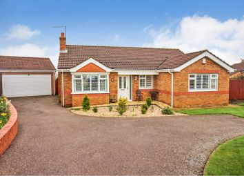 Thumbnail 3 bed detached bungalow for sale in The Paddock, Cherry Willingham, Lincoln
