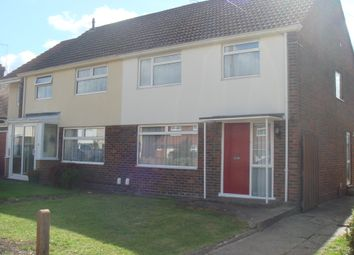 Thumbnail 3 bed semi-detached house to rent in West Avenue, Crawley