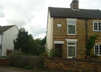 Thumbnail 2 bed semi-detached house for sale in 1 Brickhill Road, Sandy, Bedfordshire