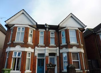 Thumbnail 1 bed flat to rent in Cedar Road, Southampton