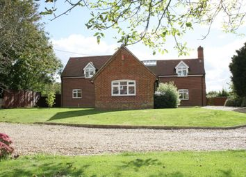 Thumbnail 5 bed detached house to rent in Main Road, Owslebury, Winchester