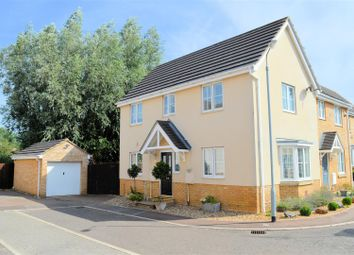 Thumbnail 3 bed semi-detached house for sale in Moughton Court, West Winch, King's Lynn