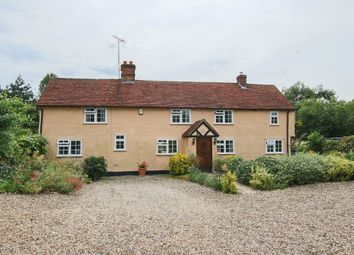 Thumbnail 4 bed detached house for sale in Thaxted Road, Wimbish, Saffron Walden