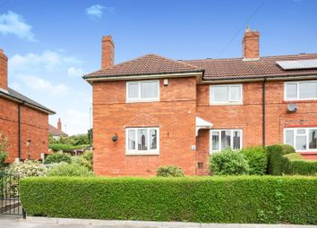 Thumbnail 3 bed semi-detached house for sale in Hollin Park Road, Leeds