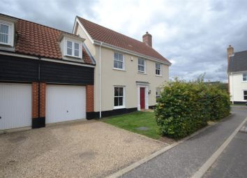 Thumbnail 4 bed link-detached house for sale in Mulbarton, Norwich