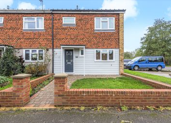 Thumbnail 3 bed end terrace house for sale in Squirrels Close, Farncombe