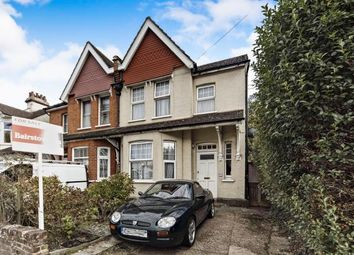 Thumbnail 4 bed semi-detached house for sale in Purley Park Road, Purley, Surrey