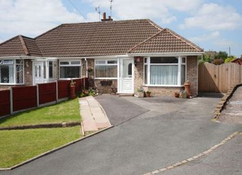 Thumbnail 2 bed semi-detached house for sale in Malvern Close, Trentham, Stoke-On-Trent, Staffordshire