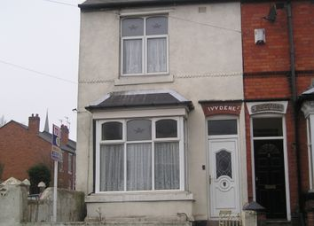 Thumbnail 3 bed end terrace house to rent in Slater Street, Darlaston