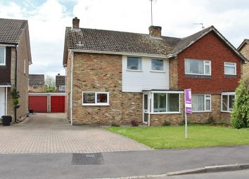 Thumbnail 3 bedroom semi-detached house to rent in Chaseside Avenue, Twyford