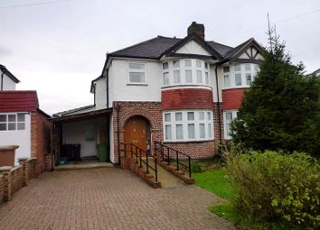 Thumbnail 4 bed semi-detached house for sale in Ravensfield Gardens, Stoneleigh, Epsom