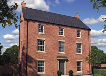 Thumbnail 5 bed detached house for sale in Burton Road Tutbury, Staffordshire