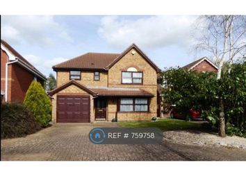 Thumbnail 4 bed detached house to rent in Beacon Court, Northampton