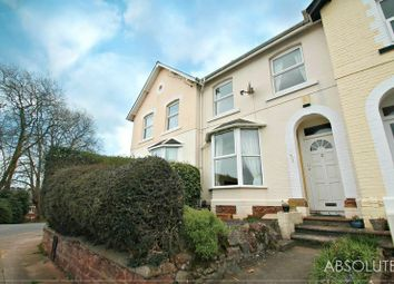 Thumbnail 3 bed terraced house to rent in Sanford Road, Torquay