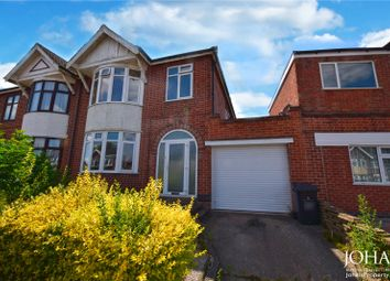Thumbnail 3 bed semi-detached house to rent in Somerville Road, Leicester