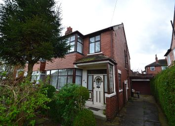 Thumbnail 3 bedroom semi-detached house for sale in St. Martins Road, Chapel Allerton, Leeds