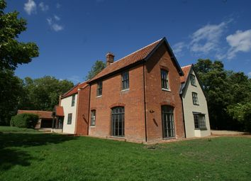 Thumbnail 7 bed detached house for sale in Church Road, Spexhall, Halesworth