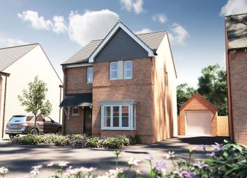 "Thumbnail 3 bed detached house for sale in ""The Whitfield Sp"" at Winchester Road, Boorley Green, Botley"