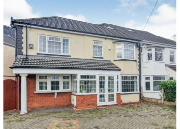 Bromford Lane, Birmingham B8. 4 bed semi-detached house for sale