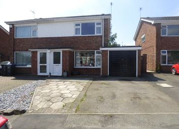 Thumbnail 3 bed semi-detached house for sale in Kenilworth Close, Broughton Astley, Leicester, Leicestershire