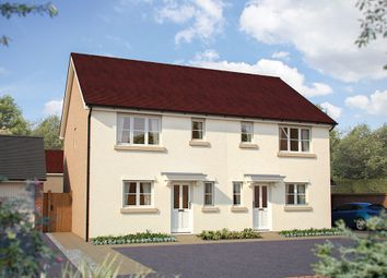 "Thumbnail 3 bed semi-detached house for sale in ""The Southwold"" at Dragonfly Lane, Cringleford, Norwich"