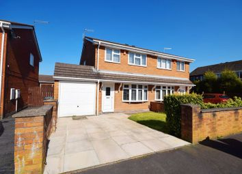 Thumbnail 3 bedroom semi-detached house for sale in Dunsford Avenue, Baddeley Edge, Stoke-On-Trent