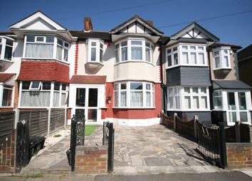 Thumbnail 3 bed terraced house to rent in Hathaway Gardens, Chadwell Heath, Redbridge