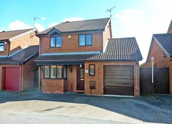 Thumbnail 4 bed detached house for sale in Kendal Close, Gunthorpe, Peterborough