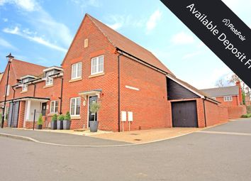 Thumbnail 3 bedroom end terrace house to rent in Damson Drive, Hartley Wintney, Hook