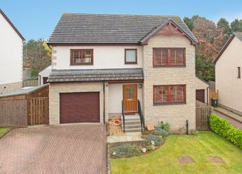 Thumbnail 4 bed detached house for sale in Hutchison Drive, Scone, Perth