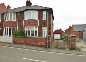 Thumbnail 3 bed semi-detached house for sale in Byron Street, Shirebrook, Mansfield