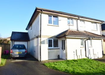 Thumbnail 2 bed semi-detached house to rent in Tredinnick Wood Close, Helston