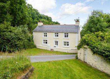 Thumbnail 4 bed detached house for sale in Cwmtydu, Llandysul, Carmarthenshire