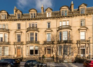 Thumbnail 3 bed flat for sale in Eglinton Crescent, Edinburgh