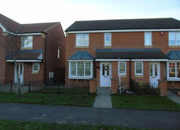 Thumbnail 3 bed semi-detached house for sale in Rothbury Drive, Ashington